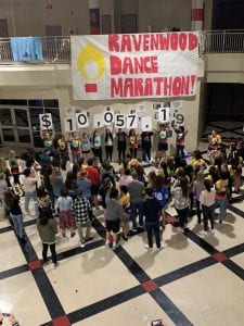 Ravenwood Dance Marathon Doubles Fundraising Goal – Monroe Carell Jr